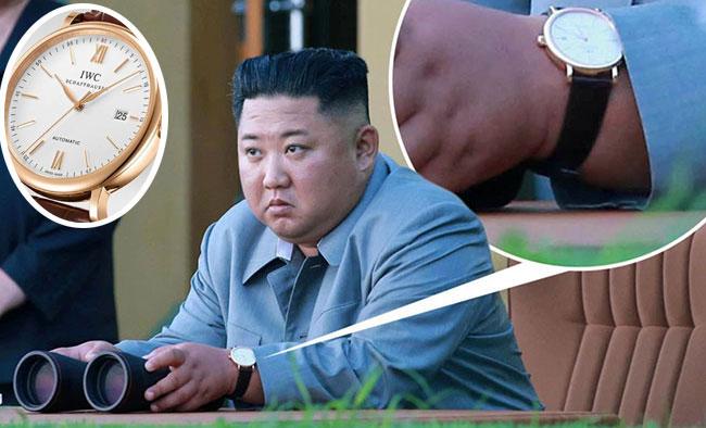 (تصاویر) ساعت ۱۰ هزار پوندی رهبر کره شمالی خبرساز شد