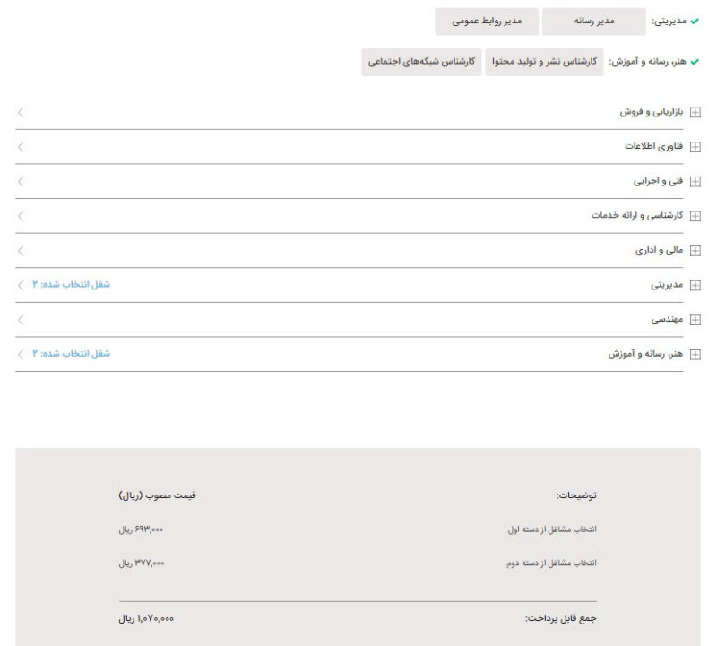 زمان و جزئیات ثبتنام آزمون استخدامی شرکتهای خصوصی