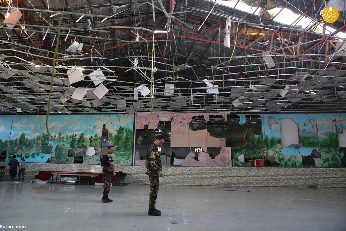 (تصاویر) انفجار مرگبار عروسی شیعیان افغانستان را عزا کرد