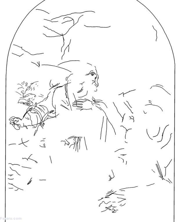 (تصاویر) اثر هنری پنهان لئوناردو داوینچی راز خود را فاش کرد