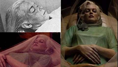 (تصاویر) افشای یک راز از عکسهای برهنه جسد مرلین مونرو