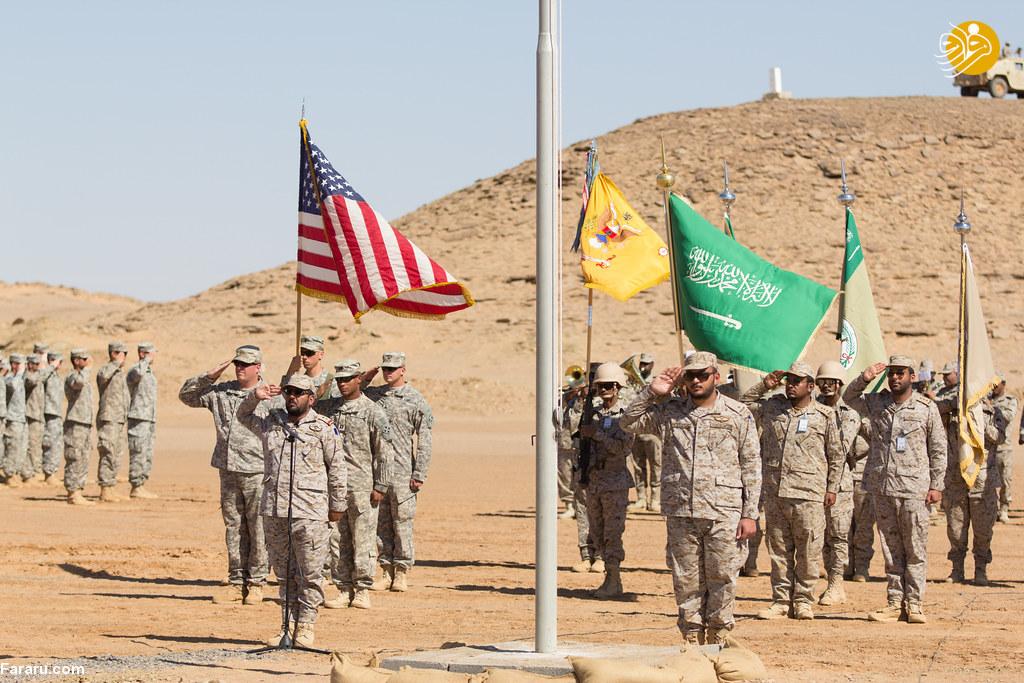 ارتش آمریکا در عربستان