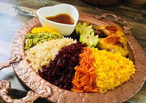 طرز تهیه مرصع پلو با مرغ خوشمزه و مجلسی