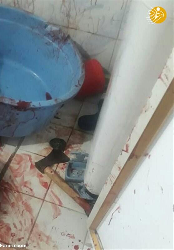 (تصویر +16) خودکشی پدر پس از قتل فجیع دختر و همسرش!