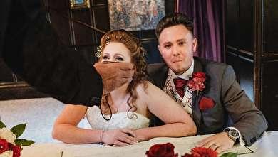 (تصاویر) عکسهای بدون سانسور از عروسی!
