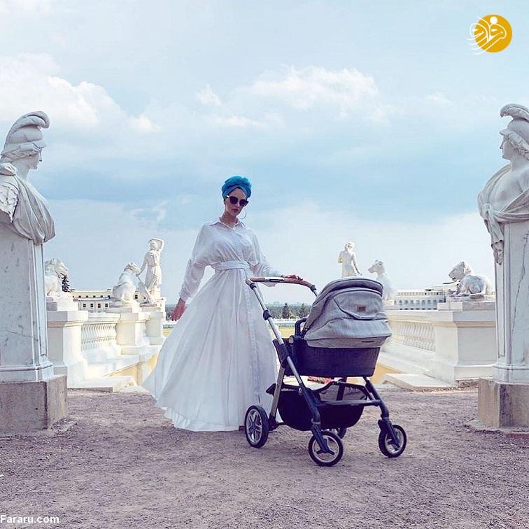 (سند و تصاویر) طلاق پادشاه سابق از ملکه زیبایی: این بچه من نیست!