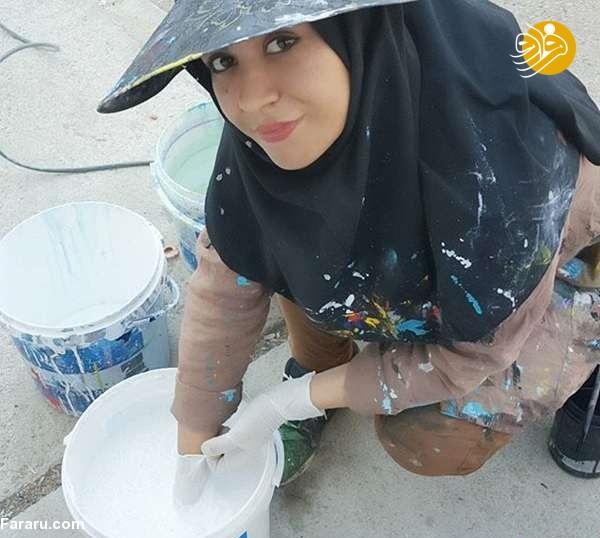 (تصاویر) فاطمه عبادی برنده برنامه عصر جدید؛ بازی با شن و رنگ!