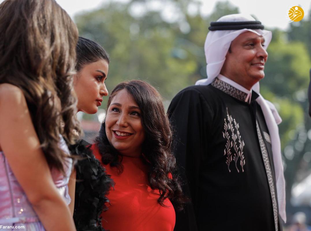 (تصاویر) زنان بازیگر عربستان در جشنواره فیلم ونیز