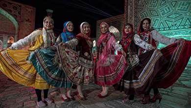 (تصاویر) جشنواره ترانه شرق با حضور نمایندگان ایران در سمرقند
