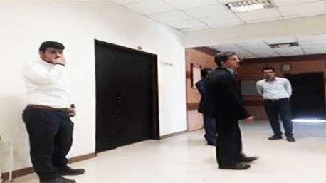 بسته شدن در شهرداری رباط کریم بر روی شهردار!