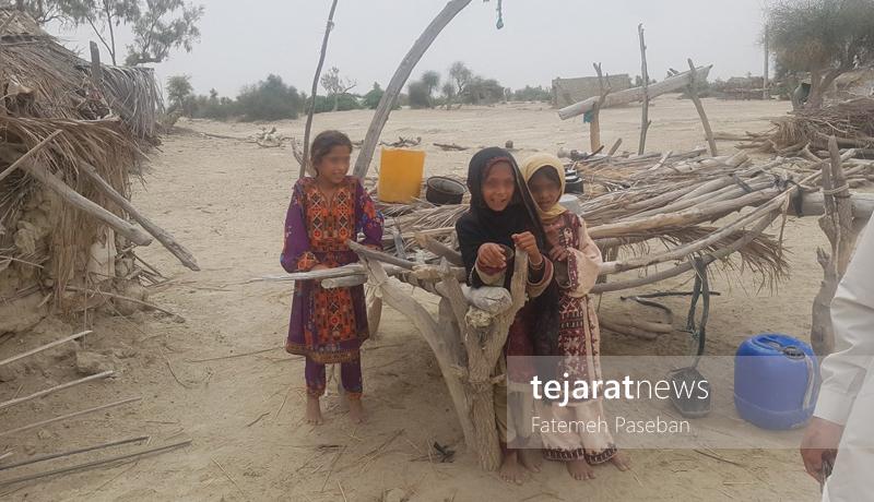 (تصاویر) چابهار؛ از کودکان بیشناسنامه تا آرزوی غذای گوشتی