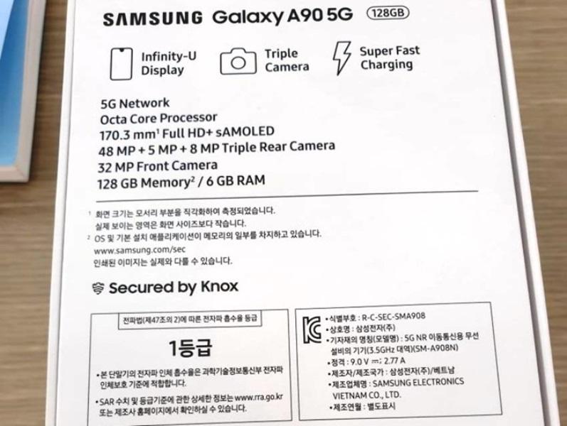 گلکسی A90، 5G؛ موبایلی از آینده