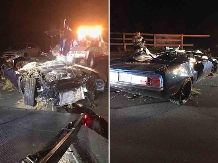 (تصاویر) جزیباتی وحشتناک درباره تصادف کوین هارت