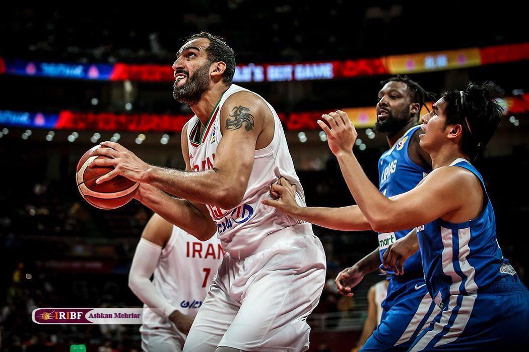 تیم ملی بسکتبال ایران به المپیک ۲۰۲۰ صعود کرد