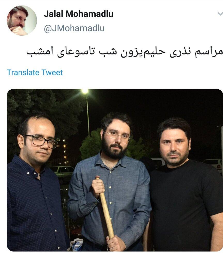 (عکس) پسر سیدمحمد خاتمی در آمریکاست یا تهران؟