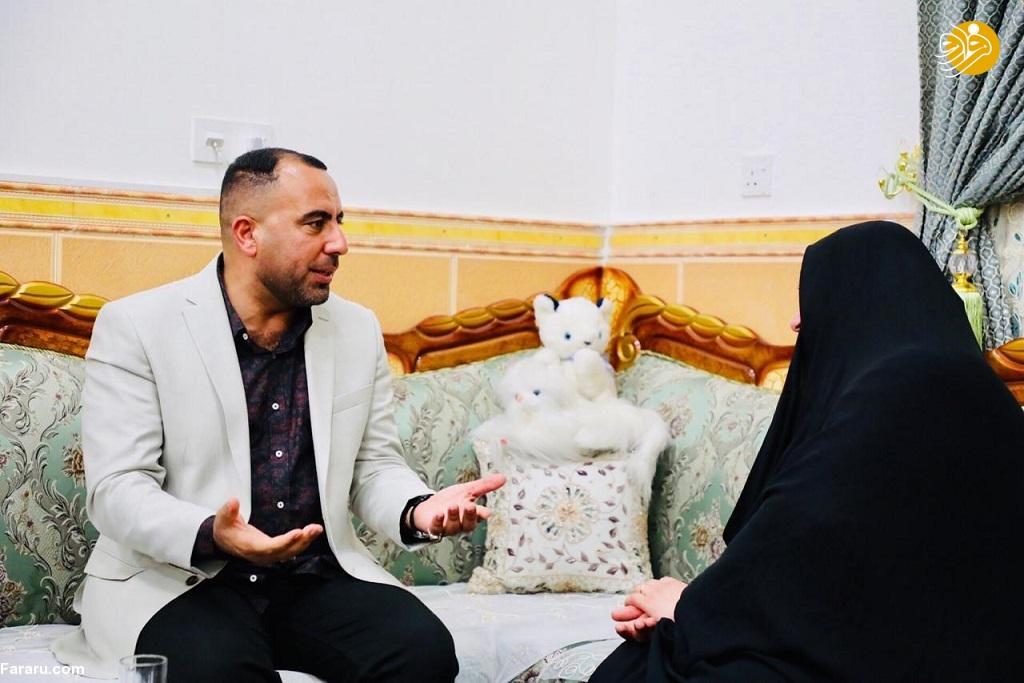 (تصاویر) عذرخواهی رسمی ایران از زن عراقی