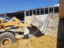 سوله ۵۰۰ متری یکی از مسئولان در شهریار تخریب شد