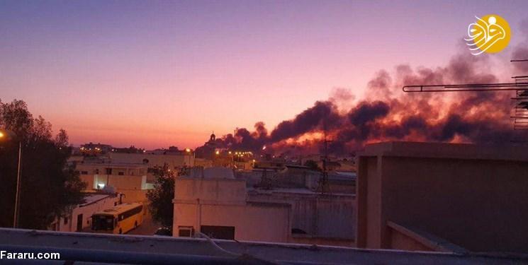 تولید نفت عربستان نصف شد