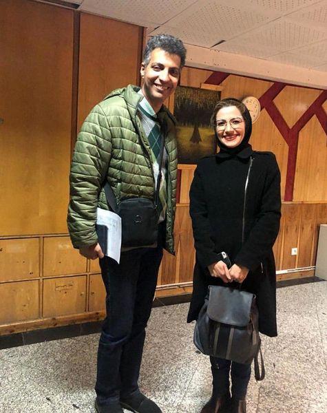 (عکس) فردوسی پور و ملیکا زارعی در کنار هم