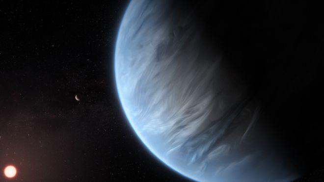 کشف نشانه های وجود آب بر سیاره ای دورافتاده