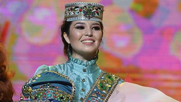 (تصاویر) مسابقه زیبایی دختر تاتار