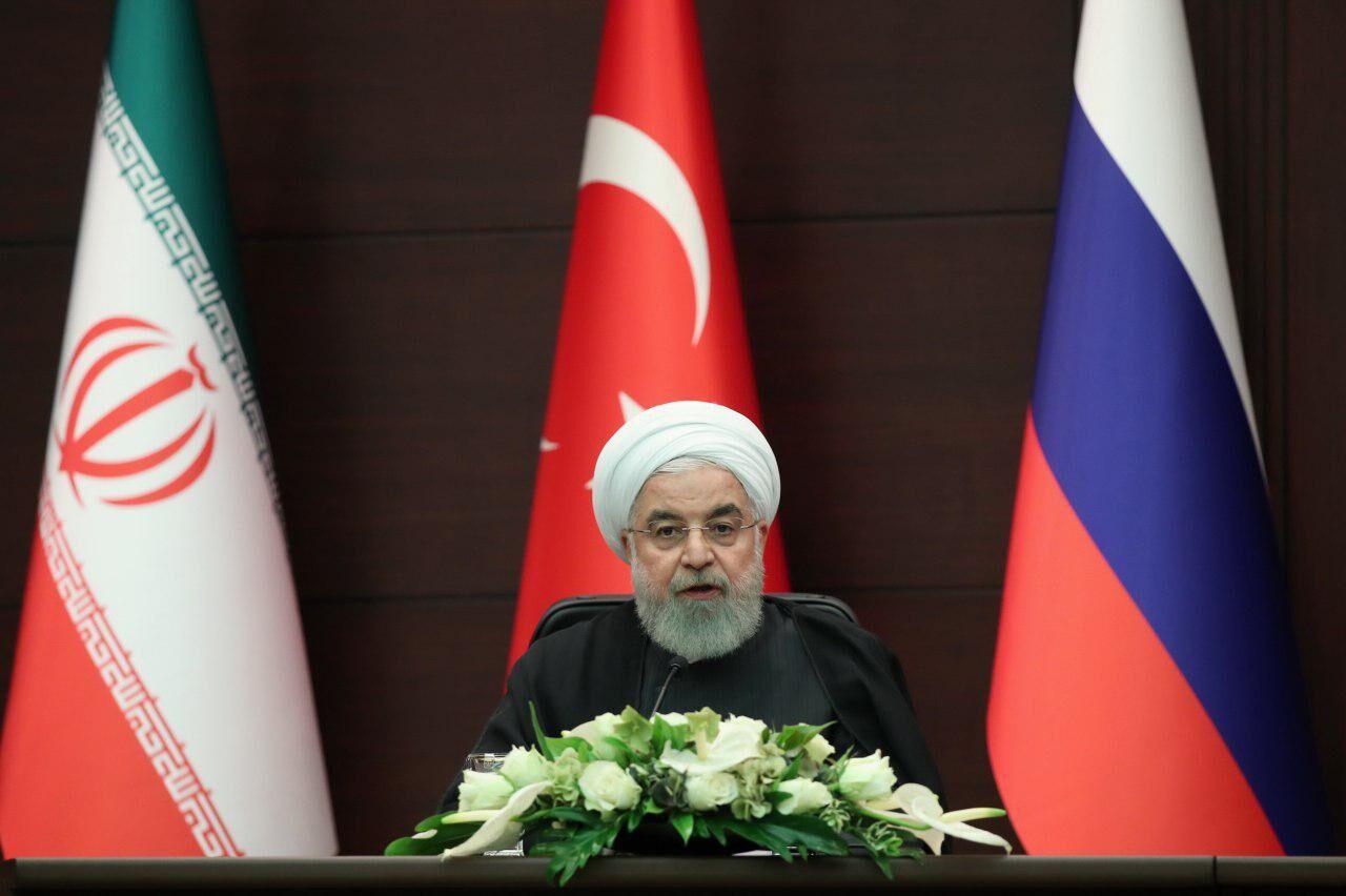 واکنش روحانی به حملات اخیر به تاسیسات نفتی عربستان