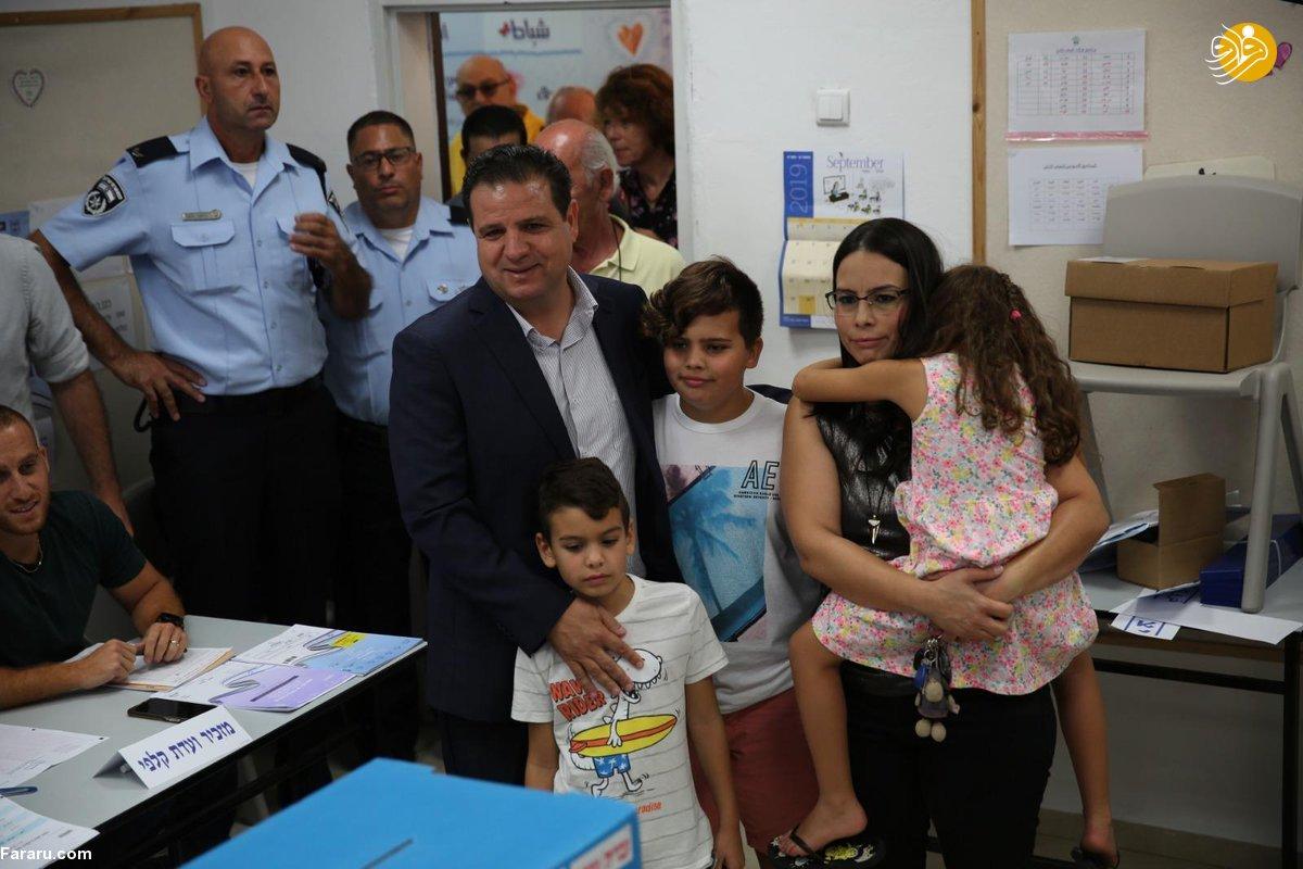(تصاویر) انتخابات در اسرائیل