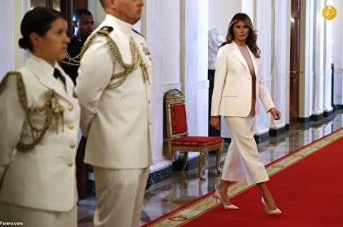 (تصاویر) زیباسازی کاخ سفید توسط ملانیا ترامپ
