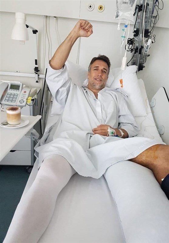تصویری از جراحی موفقیتآمیز روی پای باتیستوتا