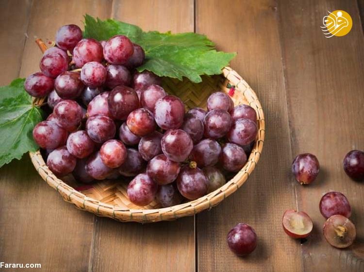 ۶ مورد از بهترین مزایای انگور قرمز