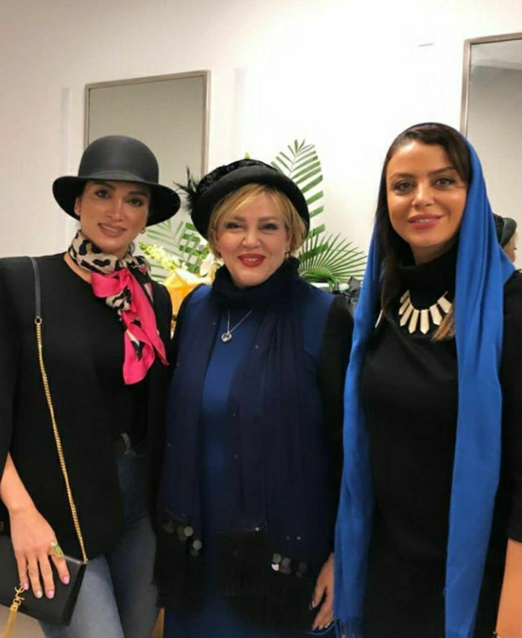 (عکس) ژست خاص ۳ بازیگر زن ایرانی در کانادا