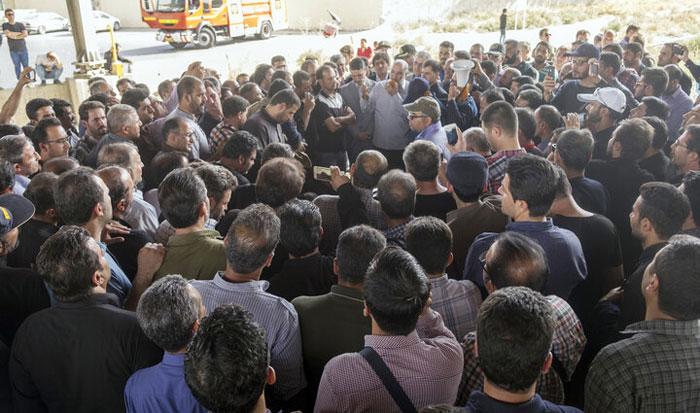 ۲۱ کارگر بازداشتی هپکو آزاد شدند؛ ۸ نفر ماندند