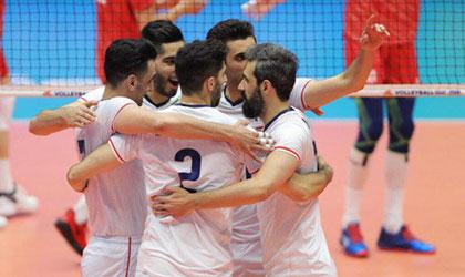 والیبال ایران با شکست تایپه به نیمهنهایی آسیا رسید