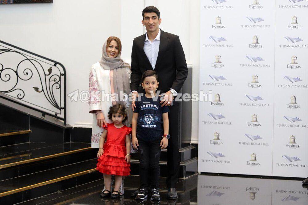 (تصویر) علیرضا بیرانوند و همسرش در مراسم بهترینها