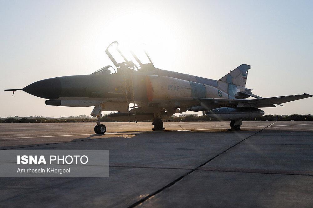 (تصاویر) جنگندههای سپاه و ارتش در آسمان ایران