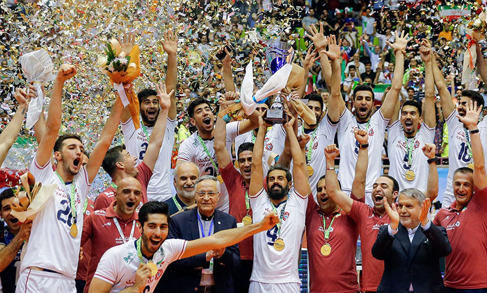 تیم ملی والیبال ایران برای سومینبار قهرمان آسیا شد