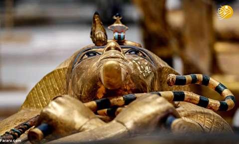 (تصاویر) تابوت طلایی فرعون