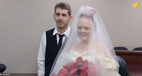 (تصاویر) مرگ دلخراش عروس و داماد ۵ دقیقه پس از مراسم عروسی