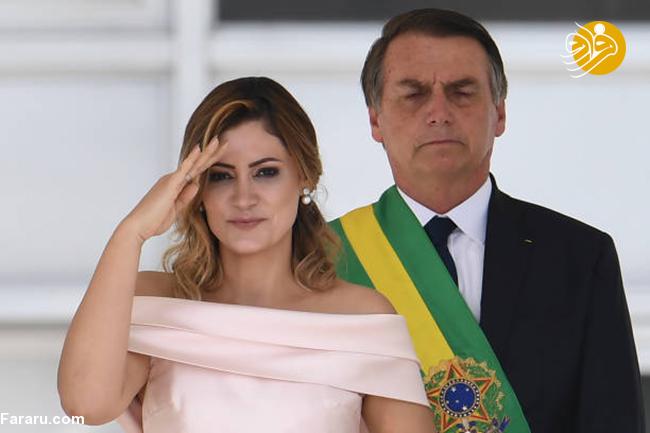 اظهارنظر عجیب رئیسجمهور برزیل درباره همسر ماکرون!