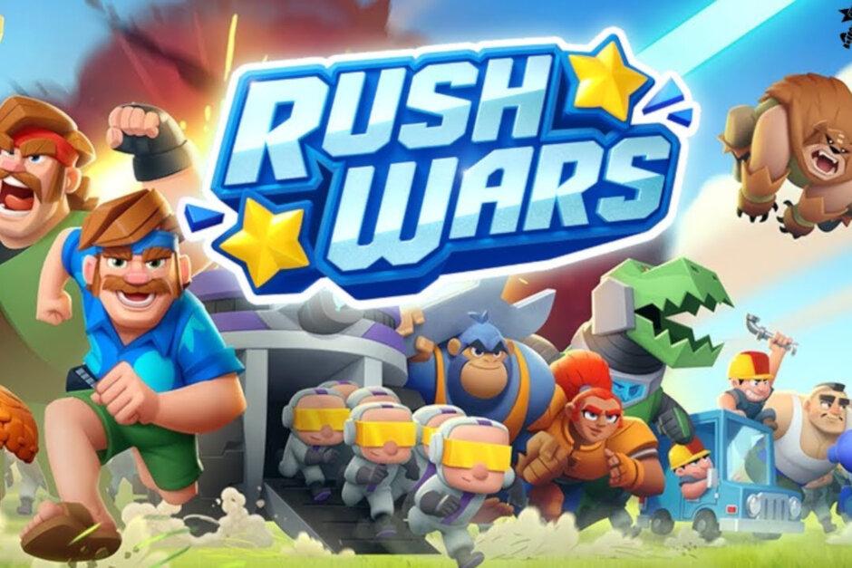 """Rush Wars بازی استراتژیکی بسیار جذاب """"جنگهای هجومی"""" برای اندروید + تریلر"""