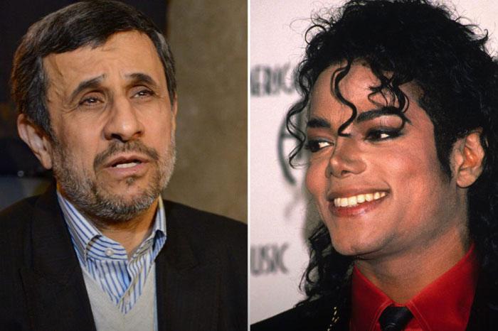 معمای احمدینژاد و مایکل جکسون