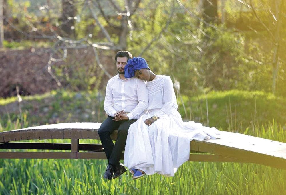 پسر ایرانی که با دختر یک ملکه قبیله آفریقایی ازدواج کرد