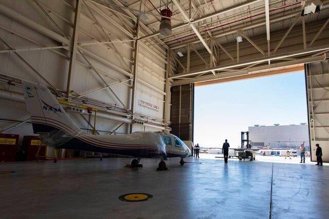 اولین هواپیمای تمام الکتریکی ناسا آماده آزمایش است