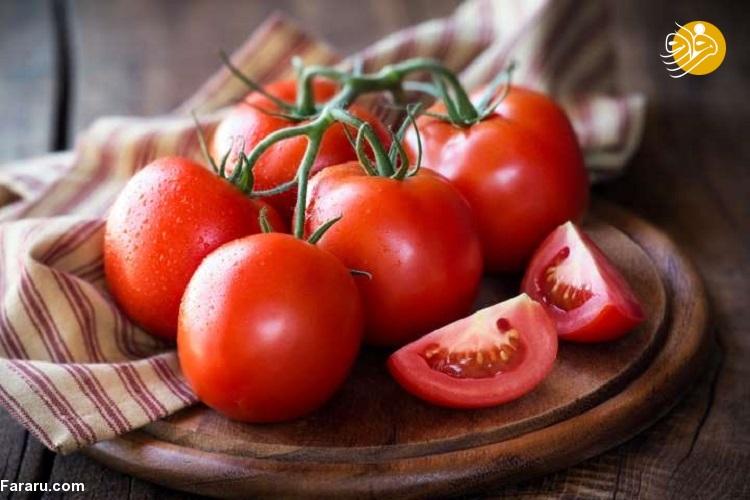 معرفی ۱۱ مزیت مصرف گوجه فرنگی