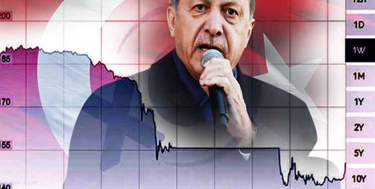 همزمان با بلندپروازیهای اردوغان، لیر در سراشیبی سقوط
