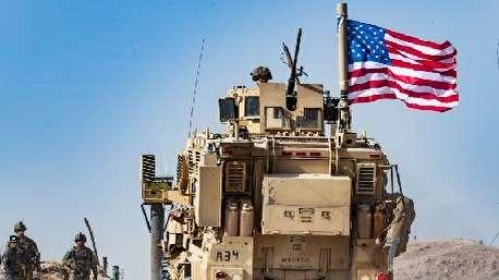 (ویدئو) خروج نیروهای آمریکایی از شمال سوریه و اعتراض کردها