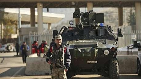 (ویدئو) آرایش نظامی ترکیه در مرز سوریه