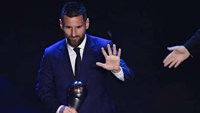(تصاویر) مراسم انتخاب بهترین بازیکنان سال فیفا