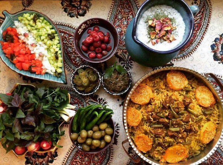 طرز تهیه انواع لوبیا پلو خوشمزه و مجلسی؛ از لوبیا پلو با گوشت تا لوبیا پلو مرغ