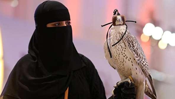 (تصاویر) نمایشگاه شاهین و شکار در ریاض عربستان